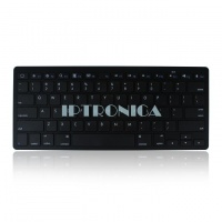 12 inch Aluminum BT Wireless Mini Slim Keyboard For Android Tablet PC Black